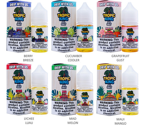 Tropic King on Salt Series (30mL)