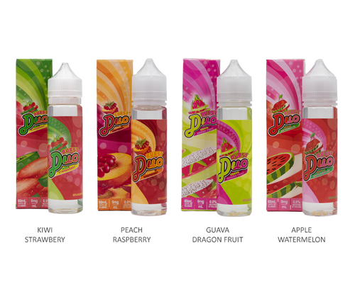 Burst Duo All Flavors 60ml