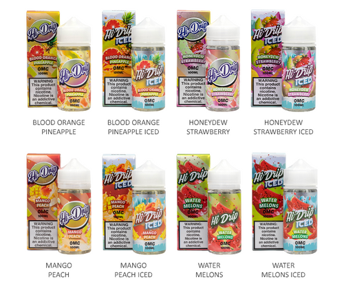 Hi-Drip All Flavors 100ml