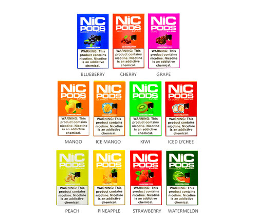 NiC Pod 4-Pack 5% Nic All Flavors