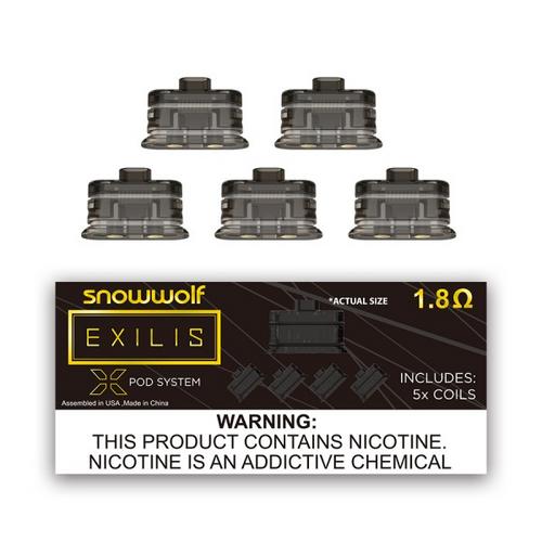 SnowWolf Exilis XPod Coils (5-Pack)