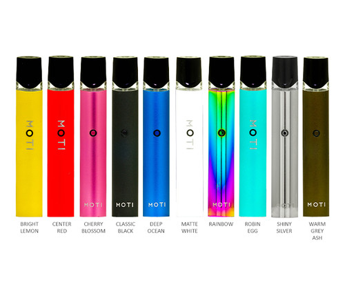 MOTI Vape Pod System Kit All Colors