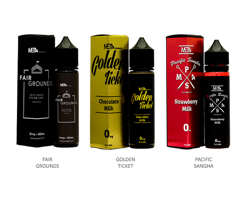 Saveurvape Met4 All Flavors 60ml
