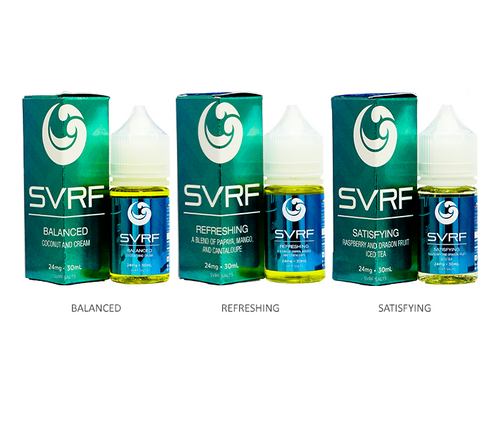 Saveurvape SVRF Salts All Flavors 30ml