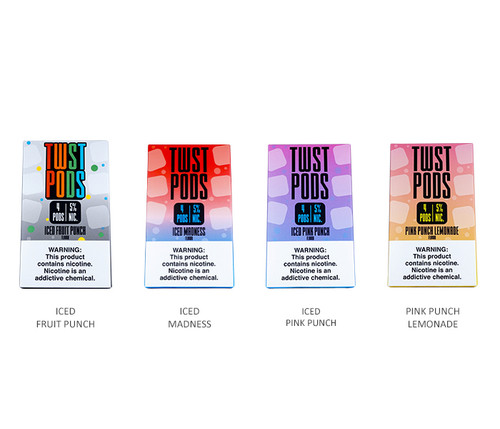 Lemon Twist Pods 4-pack All Flavors
