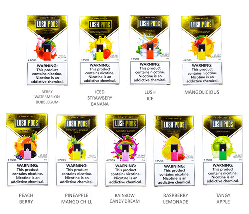 Lush Pods 4-pack All Flavors