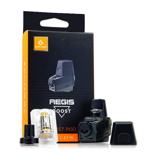 Geekvape Aegis Boost Pod Set (1 pod + 2 coils) All Contents