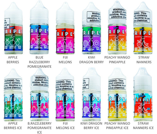 Vape 100 Ripe Series (30mL) All Flavors