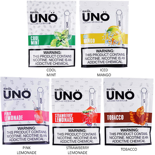 SKOL UNO Disposable Pod Device (3-Pack)