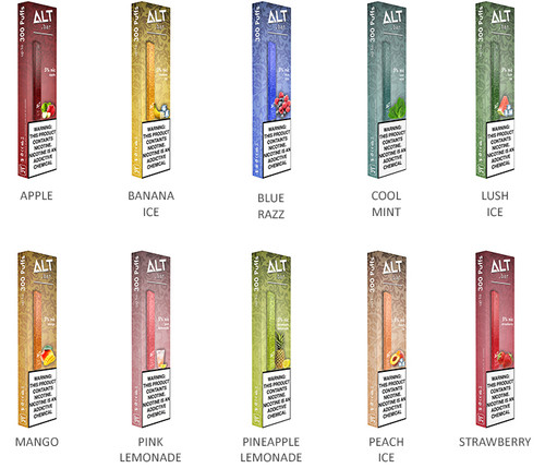 Alt Bar Disposable 5% All Flavors