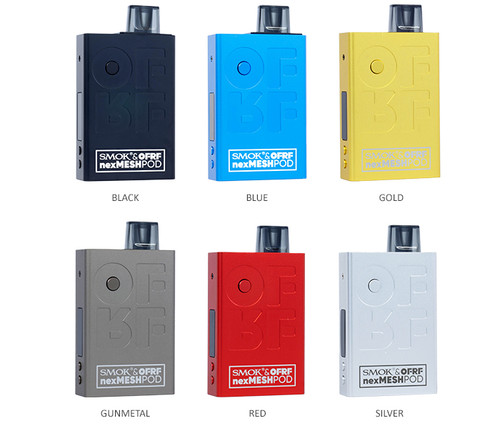 Smok-Ofrf-Nexmesh-Pod-System-Kit-30w-All Colors