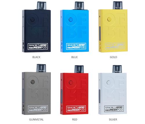 Smok-Ofrf-Nexmesh-Pod-System-Kit-30w-All Colors