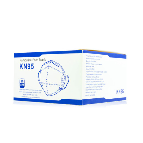 KN95 Face Mask (20-Pack)