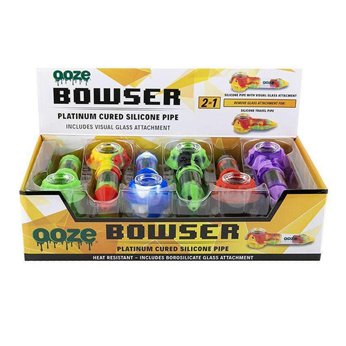 Ooze-Bowser-Silicone-Pipe-12ct