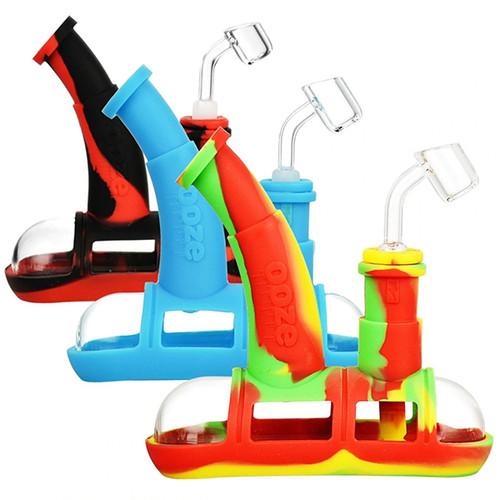 Ooze-Steamboat-Silicone-Bubbler
