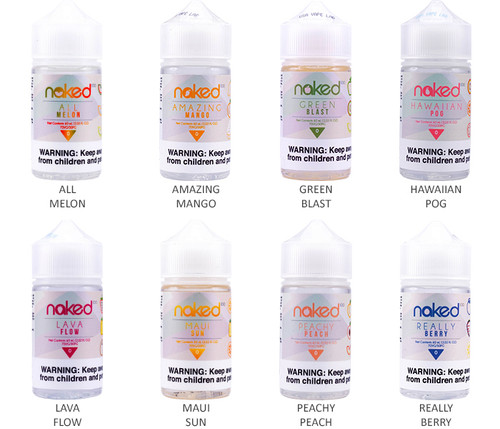 Naked 100 All Flavors 60ml