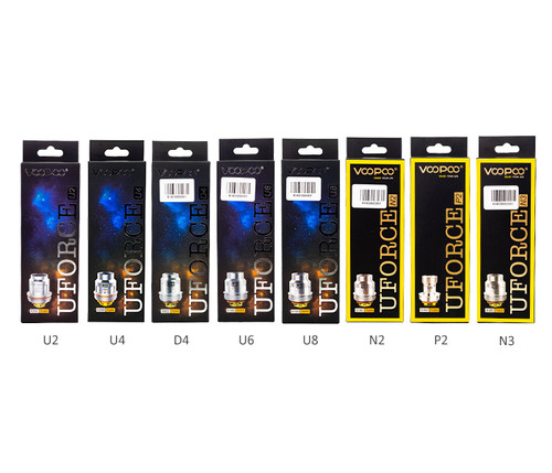 VooPoo UForce Coils 5-Pack All Coils