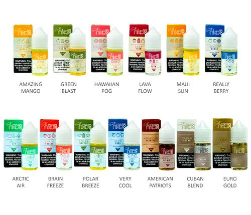 Naked 100 Salt All Flavors 30ml