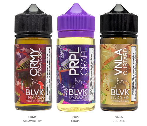 Blvk Unicorn 100ml All FLavors