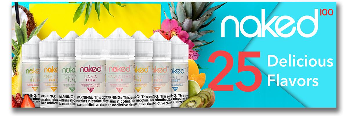 Naked 100 Series E-Liquid