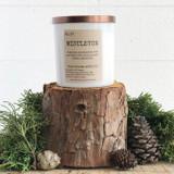 Mistletoe Soy Candle- white