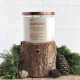 Mistletoe Soy Candle- triple wick