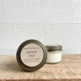 NEW SIZE!  Coffee Shop soy candle- mini