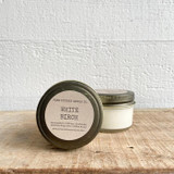 NEW SIZE!  White Birch soy candle- mini