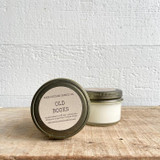 NEW SIZE!  Old Books soy candle- mini