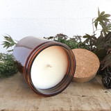 Garden Tomato soy candle- amber