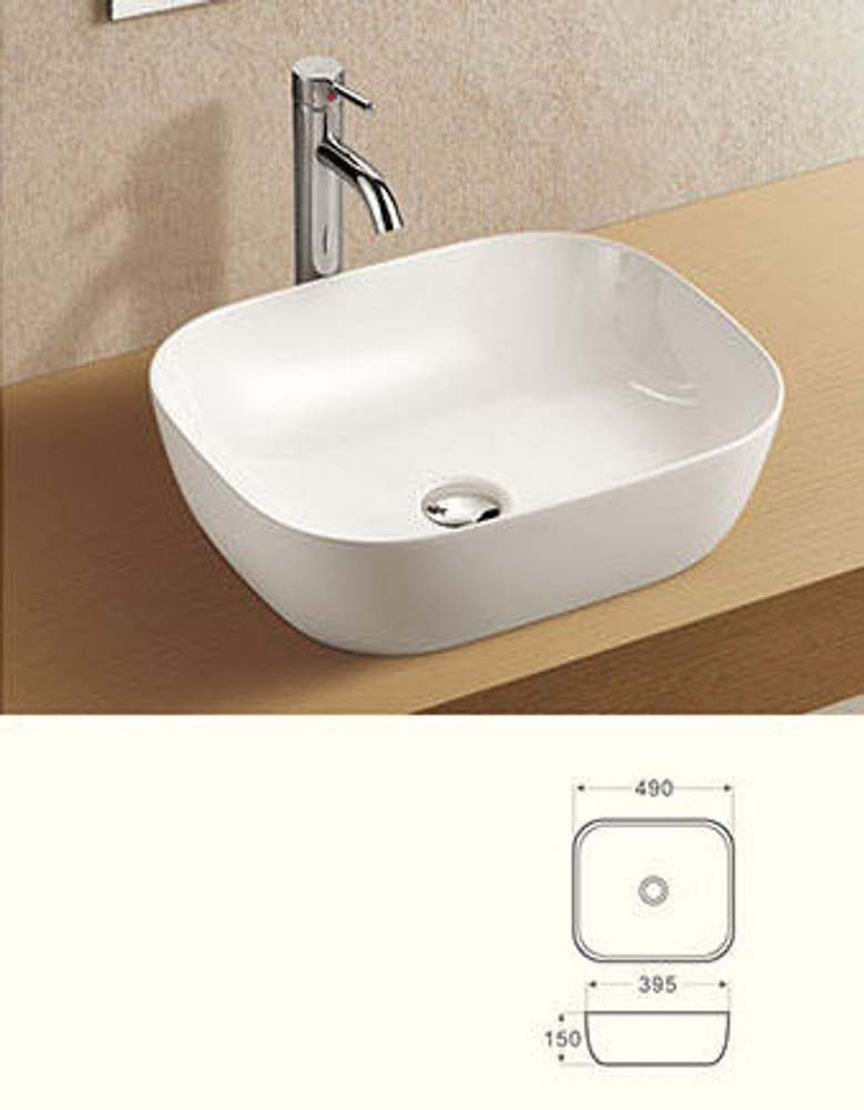 4mm Ultra Slim Ceramic Basin 2143