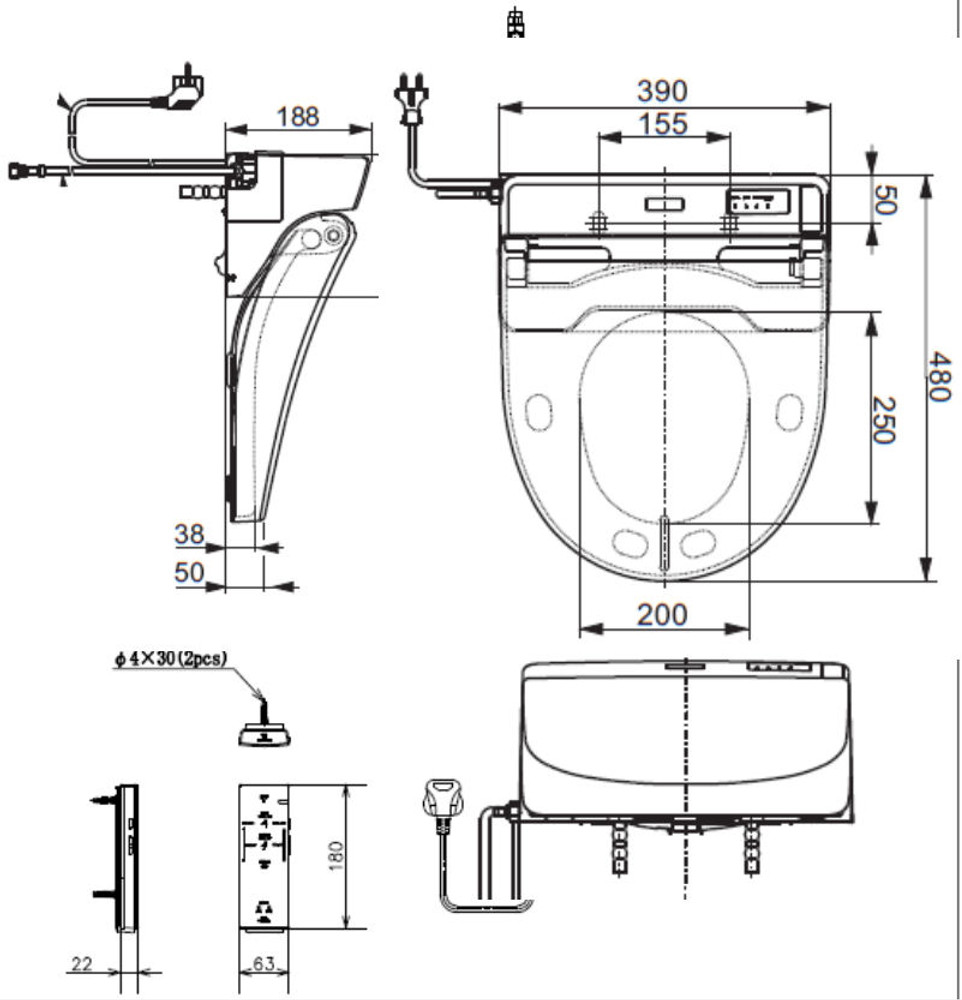 TOTO Washlet 6530 Series