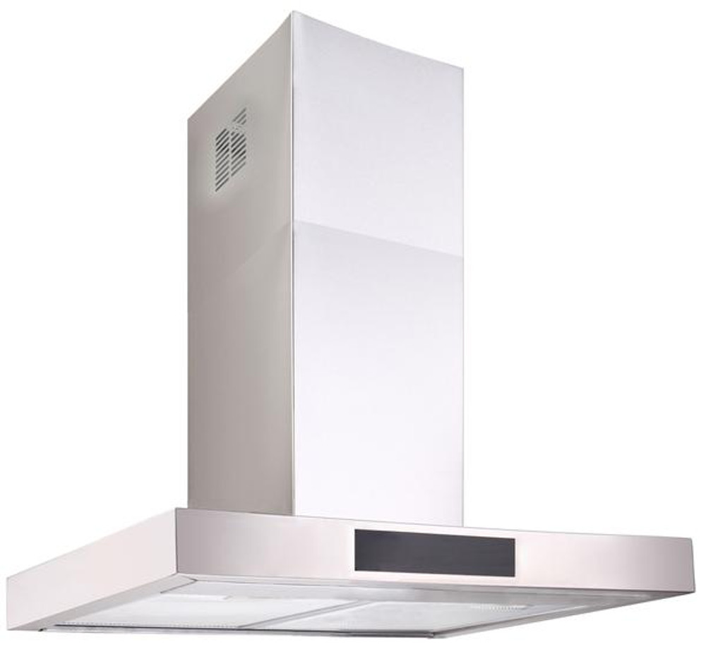 Dilusso BLACK Display CANOPY RANGEHOOD - 600MM Option External Motor
