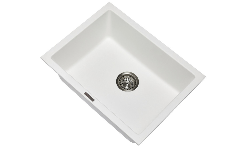 CarySil Granite Kitchen Sink - Drop In or Under Mount - Single Bowl 610x457