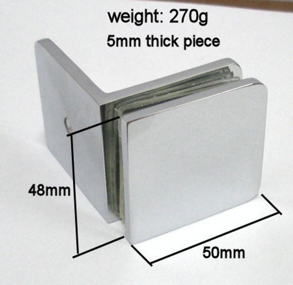 Wall Brackets for Frameless Shower Screen