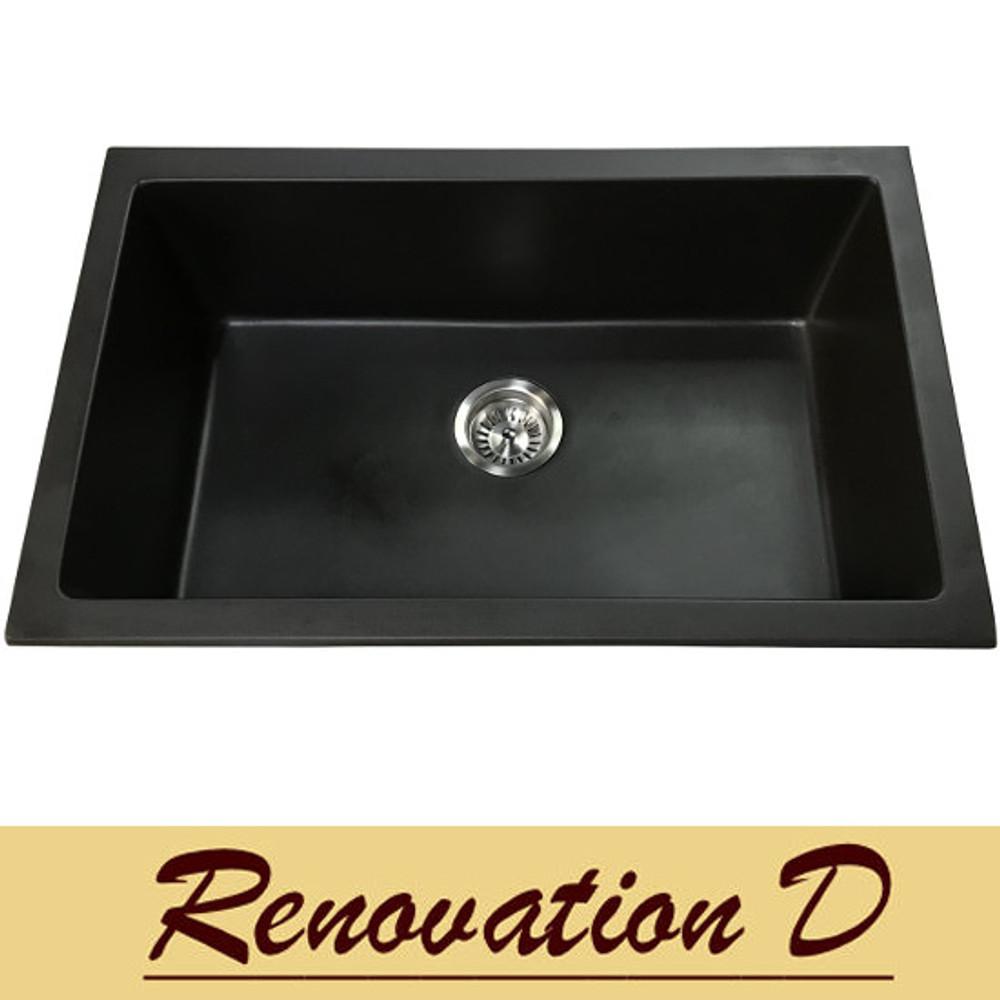 Normandy Granite Sink - Single Bowl 780x475