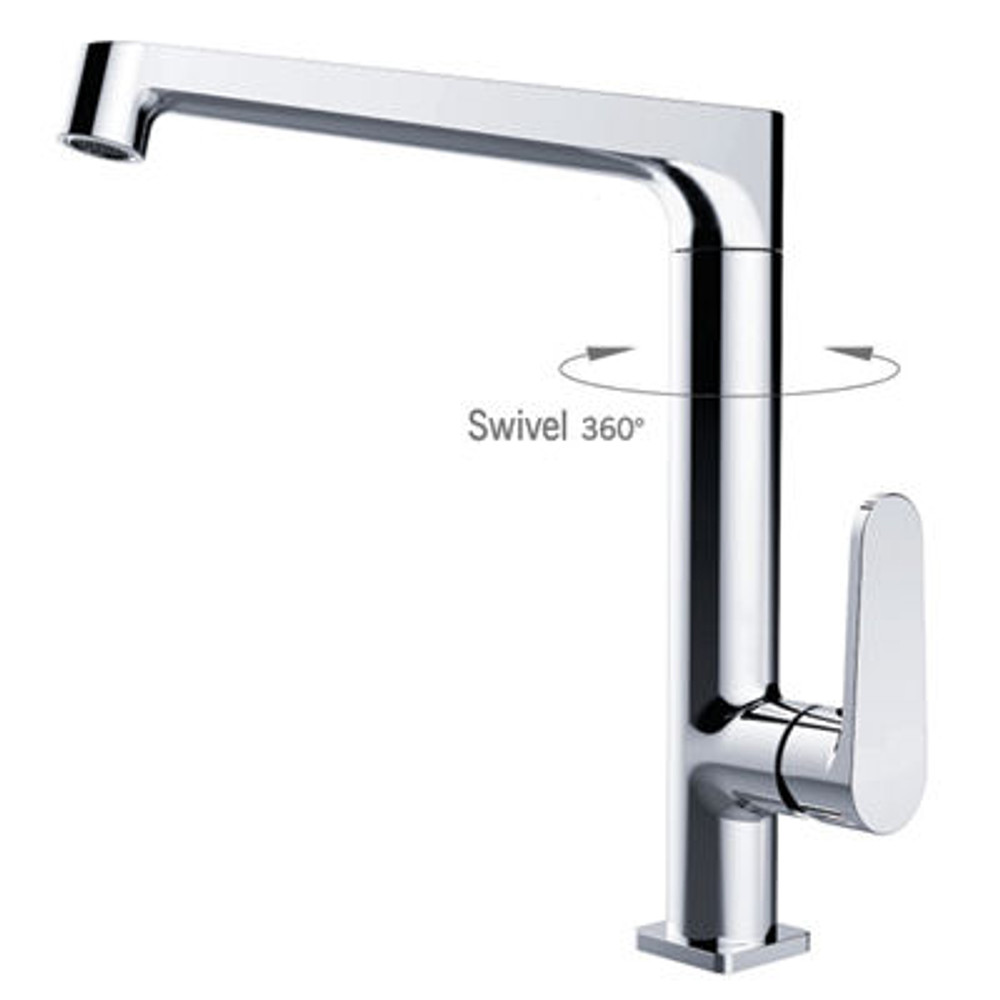 NERO Victor Kitchen Sink and laundry Mixer Tap