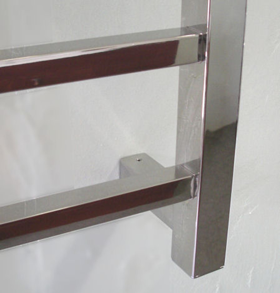 Stainless Steel Heated Towel Rail - Square 550 X 440