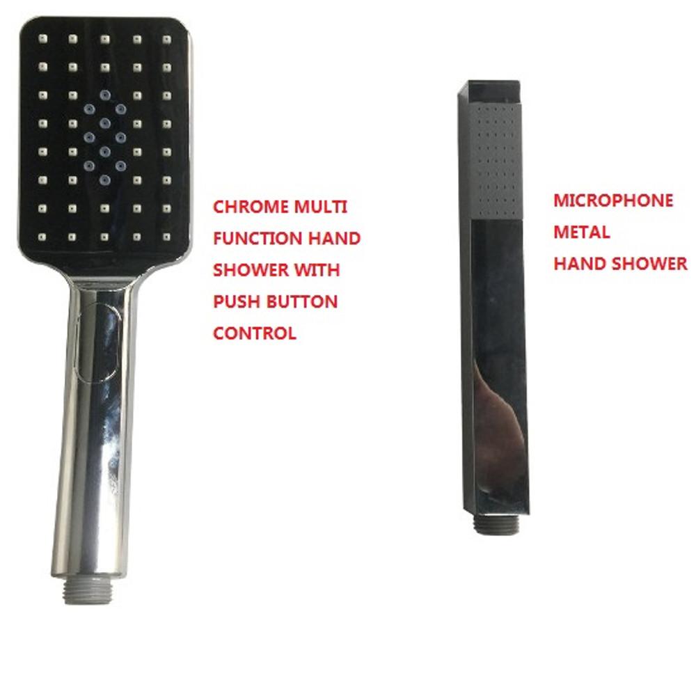 Square Twin Shower Combination - Heavy Duty Range - Side Inlet