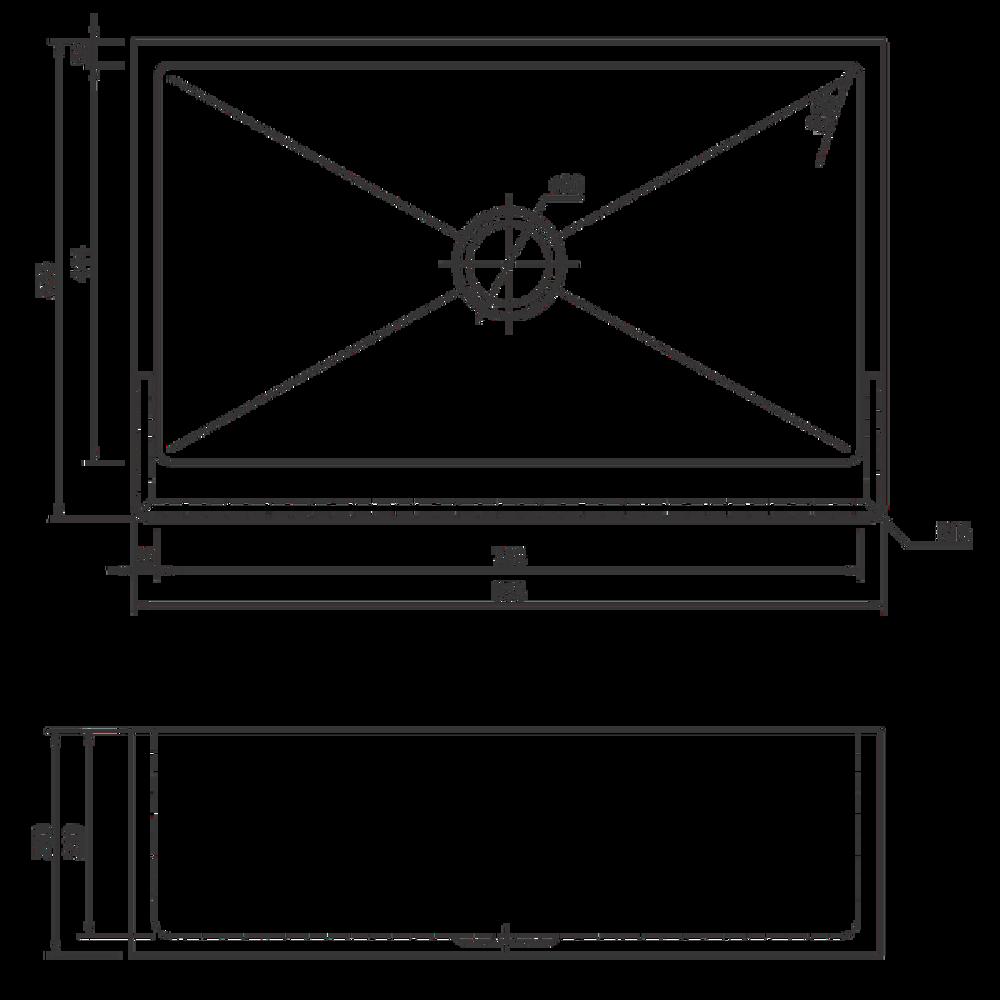 NORMANDY  Butler Single Bowl Sink (838mm)