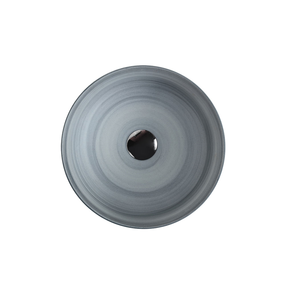 ASTI Art Basin - Black White Grey Cement