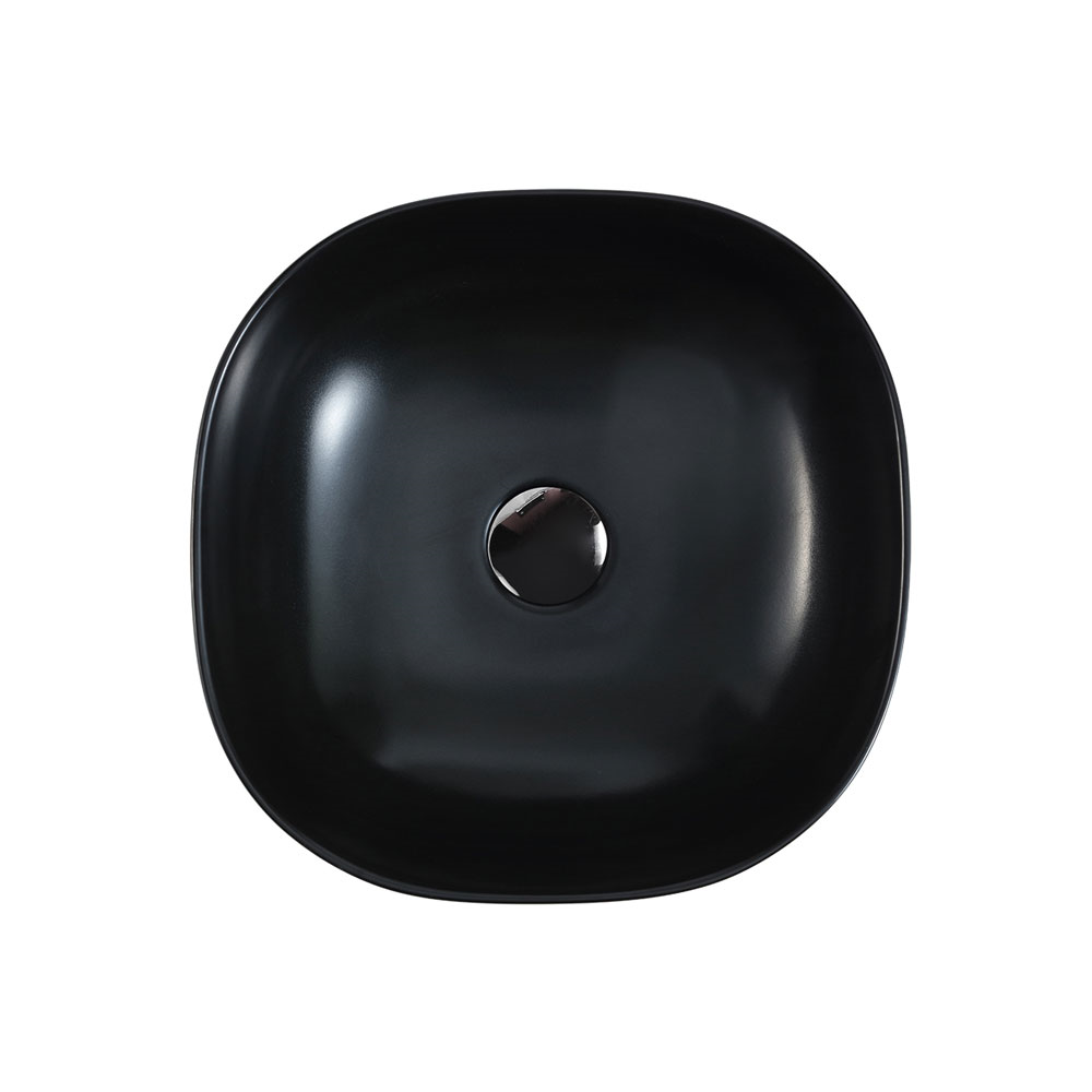CH44 Art Basin - Touchline White Matt Black
