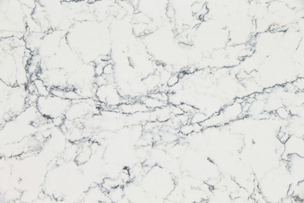 Caesarstone Bench Top Slab 3000 x 1400 -  White Attica 5143