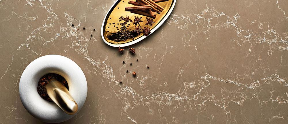 Caesarstone Bench Top Slab 3000 x 1400 -  Tuscan Dawn™ 5104
