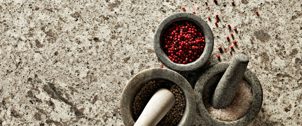 Caesarstone Bench Top Slab 3000 x 1400 - Atlantic Salt™ 6270