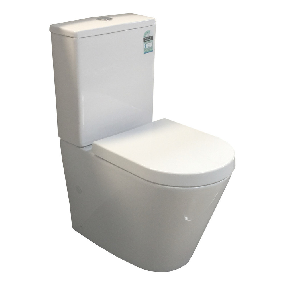 Rhine Compact Rimless Wall Faced Toilet Suite