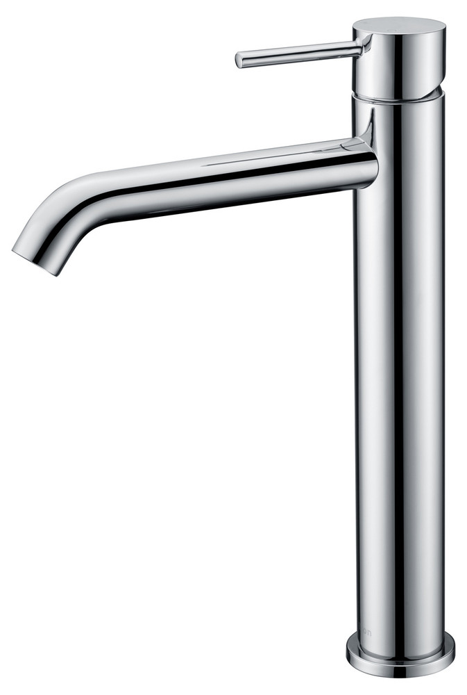 ikon HALI Basin Tower Mixer Tap - Chrome, Matte Black, Brushed Nickel