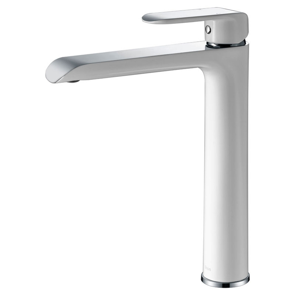 ikon KARA Tower Basin Mixer Tap - Chrome, White, Black, Rose Gold