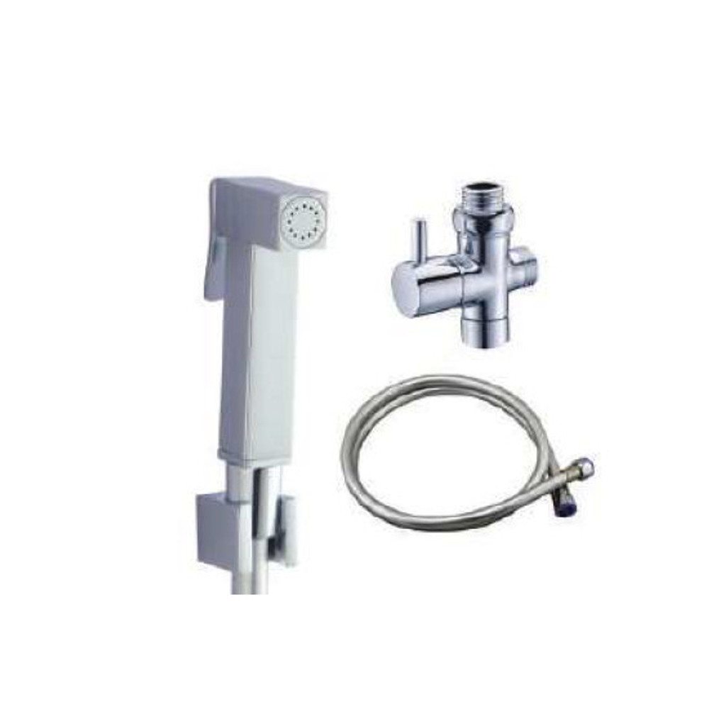 Brass Square Bidet And Toilet Hand Sprayer