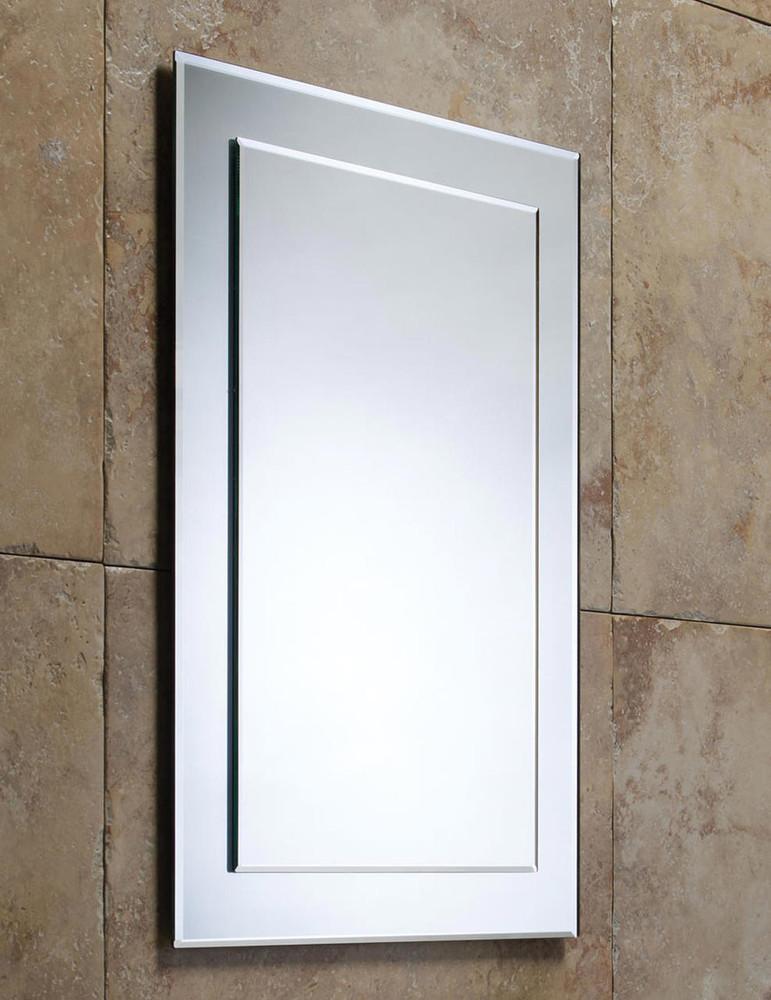 Dual-Layer Edge Mirror - Beveled Mirror on Pencil Mirror